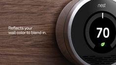 Love this thermostat from nest.