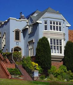 not all houses in sf are victorians this stucco home in prestigious sea cliff is