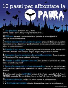 10 passi per affrontare la PAURA - Cristina Rubegni   Dove vai? Ti accompagno.