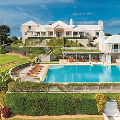 A traditional Bermudan manse—known as the Chelston For Sale #Ocean Home