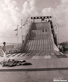 Huge slide near Sharpstown Mall, Houston late 60's-70's ...