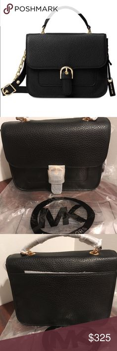 Michael Kors Large School Satchel-Black 100% Authentic Michael Kors Handbag. Excellent style & quality. Retails for $378. Brand new with tags. Last one left! Michael Kors Bags Satchels