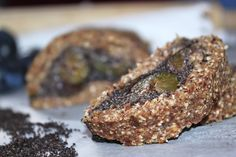 žít vege: raw makový závin se švestkami