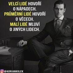 Velcí lidé hovoří o nápadech. Průměrní lidé hovoří o věcech. Malí lidé mluví o jiných lidech.  #motivace #motivacia #uspech #citaty #praha #czech #slovak #czechgirl #czechboy #slovakgirl #slovakboy #lifequotes #success #business #motivation