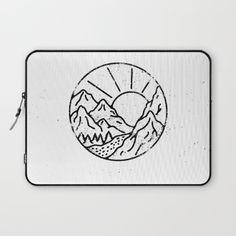 Day Laptop Sleeve by WEAREYAWN | Society6