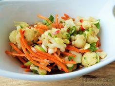 The Sunday Cook - Die Sonntagsköchin: Asiatischer Blumenkohl-Salat