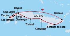 Three weeks in Cuba - selected photos * And other travels in America Cienfuegos, Vinales, Trinidad, America, Map, Travel, Santiago De Cuba, Decks, Pictures