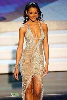 Zuleyka Rivera Mendoza, Puerto Rico, Miss Universe 2006 Pageant Dresses, Sexy Dresses, Beautiful Dresses, Zuleyka Rivera Miss Universe, Miss Universe 2006, Miss Puerto Rico, Miss Teen Usa, Latin Women, Beauty Pageant