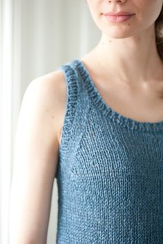 togue pond by pam allen / quince & co kestrel