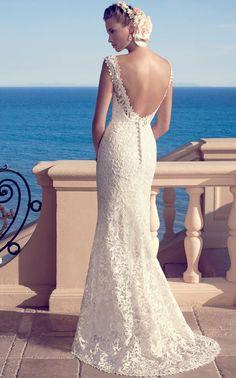 Casablanca Bridal Spring 2015 2183 back