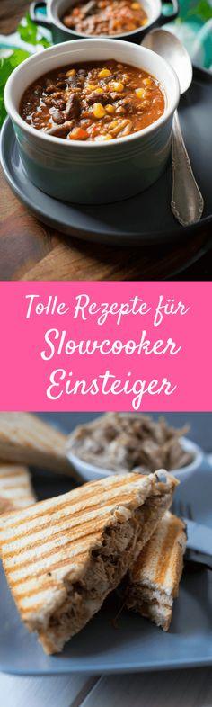 Super Rezepte für den Slowcooker, ideal auch für Einsteiger