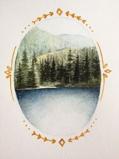 emily wolfenden: I decided to paint a landscape