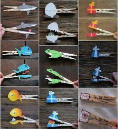 Easy Crafts For Kids - Kids - Crafts Easy Crafts For Kids, Summer Crafts, Cute Crafts, Toddler Crafts, Diy For Kids, Children Crafts, Kids Arts And Crafts, Cute Diy Projects, Projects For Kids
