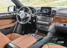 Xe sang Mercedes-Benz GLS 350d 4MATIC 2017 vừa ra mắt tại Việt Nam New Mercedes Amg, Dream Cars, Vehicles, Interior, Commercial, Logo, Autos, Pictures, Logos