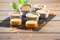 Receita de Queijadas de cenoura. Descubra como cozinhar Queijadas de cenoura de maneira prática e deliciosa!