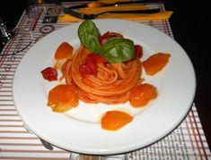 Spaghetti monograno al pomodoro giallo già giù del Vesuvio - ricetta inserita da Fofò Ferriere e Giovanni Garofalo