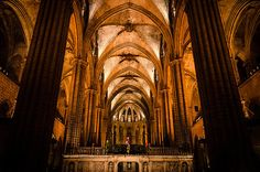 Barcelona, the cathedral - Prints available, international Shipping