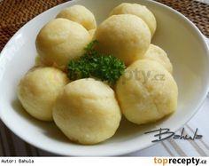 Jemné bramborové knedlíky Gnocchi, Hamburger, Potatoes, Keto, Bread, Cheese, Vegetables, Recipes, Food