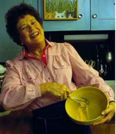 """Always remember: if you're alone in the kitchen and you drop the lamb, you can always just pick it up. Who's going to know?""—Julia Child"