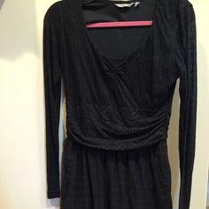 Athleta black dress Black dress good condition Athleta Dresses Long Sleeve