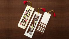 Picture of How To Make Bookmarks | Paper Cutting Art