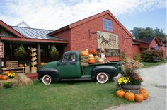 The Vermont Country Store in Weston decorated for fall. www.VermontCountryStore.com