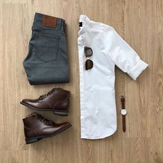 Tired struggling to find the perfect outfit in the morning? Here are some amazing OOTD Ideas for men to flaunt. Gq Style, Men Style Tips, Mode Style, Style Men, Stylish Mens Outfits, Casual Outfits, Fashion Outfits, Fashion Men, Fashion Styles