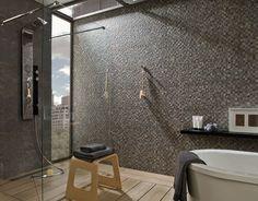 Badkamer Tegels Ceramico : Arizona antracita ceramico tegels parket en natuursteen