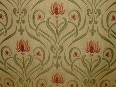 Art Nouveau Tiffany Soft Gold Thick Designer Jacquard Curtain Upholstery Fabric | eBay
