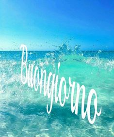 Fresco buongiorno Good Morning Gif, Good Morning Images, Good Morning Quotes, Italian Memes, Italian Quotes, Kind Of Blue, Happy Day, Neon Signs, In This Moment