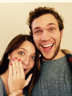 My best Christmas surprise is happening. We're engaged yall! @HannahBlackwell !