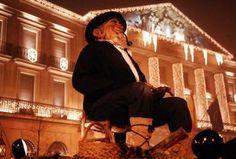 Olentzero- basque Papa Noel- 24 de diciembre en Pamplona