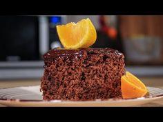 Θα το φτιάχνετε συνέχεια! Το πιο αφράτο Κέικ Σοκολάτα - Πορτοκάλι - Chocolate Orange Cake - YouTube