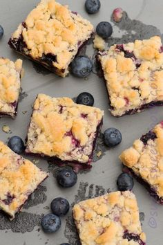 Blueberry Crumb Bars 1