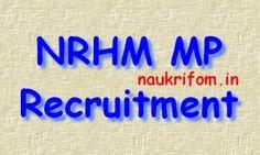 NRHM MP Recruitment 2016 mponline.gov.in 1128 DDC & Other Posts