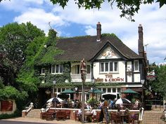 Rose & Crown on Kew Green. Used to go there after visiting Kew Gardens and watch the cricket across the road then walk home across Kew Bridge with my Mum and Dad