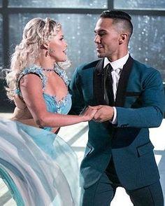 Dancing With the Stars  -  Witney Carson & Carlos PenaVega  -  season 21  -  fall 2015