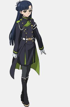 """""""Seraph of the End"""" Anime character art."""