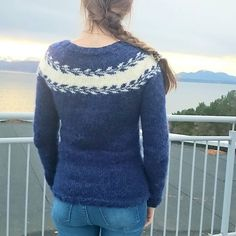 Ravelry: Project Gallery for Mary's sweater/ Marygenser pattern by Marianne J… How To Start Knitting, Knit Sweaters, Fair Isle Knitting, Knits, Ravelry, Knitting Patterns, Hat, Pullover, Sewing