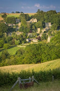 Snowshill Evening | Evening view over Snowshill, the Cotswolds, Gloucestershire, England | Brian Jannsen Photography