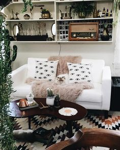 Bohemian Homes — Bohemian Homes: Sheepskin throw