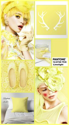'' Limelight: Pantone Fall/ Winter Colors Trends '' by Reyhan S. Yellow Fashion, Fashion Colours, Color Trends 2018, Pink Peacock, Color Stories, Color Of The Year, Pantone Color, Bridal Makeup, Color Inspiration