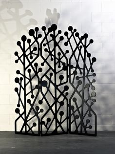 Screen Partition Screen, Divider Screen, Art Fer, Laser Cut Screens, Space Dividers, Mural Wall Art, Iron Art, Architectural Elements, Home Textile