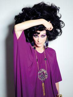 Tilda Swinton - Candy #4 by Xevi Muntane, Summer 2012
