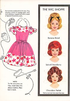 Tina* The International Paper Doll Society by Arielle Gabriel for all paper doll and paper toy lovers. Mattel, DIsney, Betsy McCall, etc. Join me at ArtrA, #QuanYin5 Linked In QuanYin5 YouTube QuanYin5!