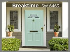 Front Door Color Guide...6 different colors. If you've been thinking about painting your front door something other than basic black or white, we've got your color. Studio 5 Contributor, Cari Stevenson reveals her front door paint picks for summer 2013. (Watch the video)