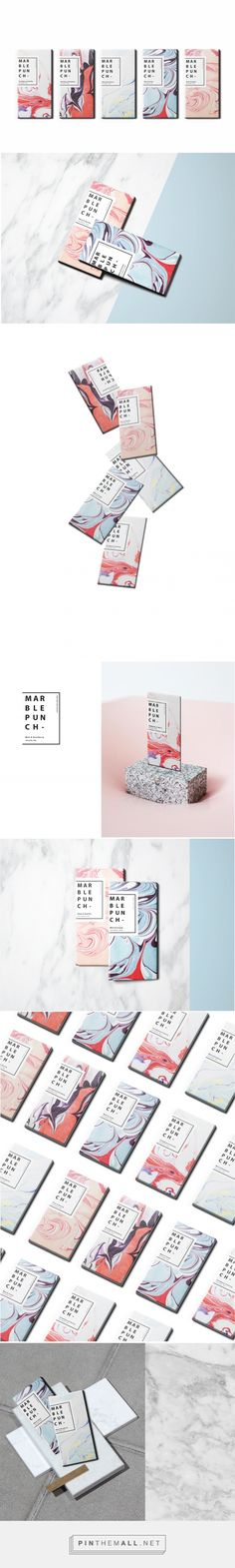 MarblePunch Chocolate Bar (Student Project) - Packaging of the World - Creative Package Design Gallery - http://www.packagingoftheworld.com/2017/05/marblepunch-chocolate-bar-student.html