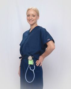 Nurse Born Stethoscope Holder On