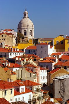 Lisbon View, Portugal--Been there. Spain And Portugal, Portugal Travel, Portugal Trip, Algarve, Travel Around The World, Around The Worlds, Places To Travel, Places To Visit, Beautiful Places