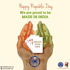 Custom Playing Cards, Republic Day, Bright Colors, Poker, Create Your Own, Fill, Bridge, Indian, Happy